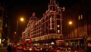 Londra Luci di Natale