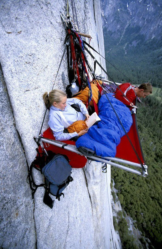 Alpinisti Yosemite California