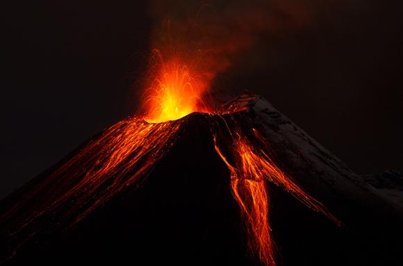 Vulcano ecuador