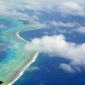 DSC_5038 Laguna di Chuuk vista dall'aereo