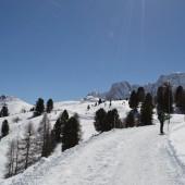 Sentiero invernale Alpe di Siusi
