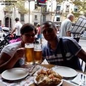 82. Savino e Teresa presso La Rambla