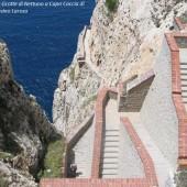 Grotte di Nettuno (scalinata)