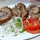 156-Tinos Town-Cena col Kokoretsi