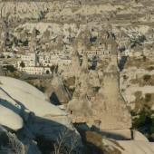 117-Turchia on The Road-La città di Goreme dall'alto