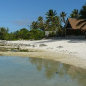 39-Motu Temae-La spiaggia del Green Lodge