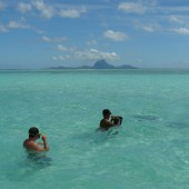 40-In barca nella laguna-Bagno in paradiso