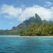 64-Bora Bora-In barca verso il Meridien