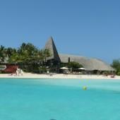 68-Bora Bora-All'ingresso del Meridien