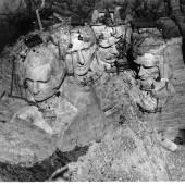 Costruzione Mount Rushmore