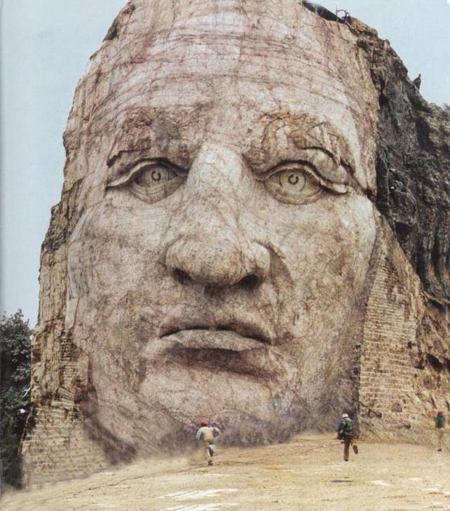 Crazy Horse Face