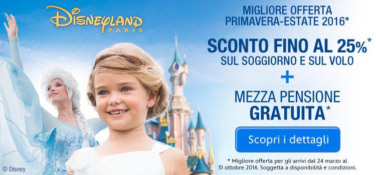 Disneyland Paris Promo