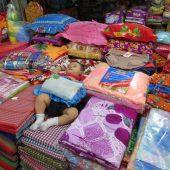 Bimbo mercato