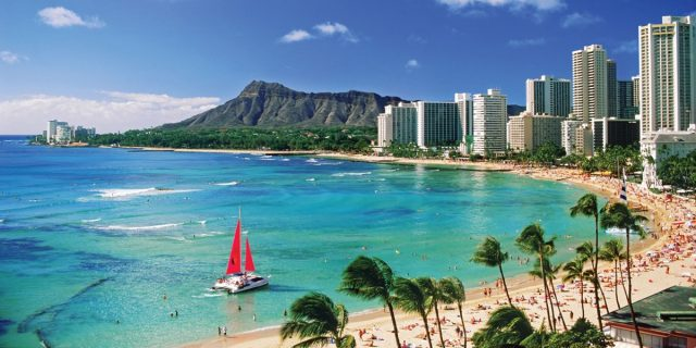 usa tours hawaii oahu honolulu waikiki beach l al