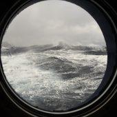 Burrasca tra le Seven Islands