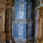 foto 5 - Castello stufa maiolica