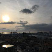 Genova - vista del Porto Antico da Palazzo Rosso