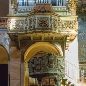 DSC_8337  Basilica San Giulio - l'ambone e l'organo a canne