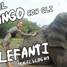Bagno Nel Fango con gli Elefanti - Chiang Mai - Vacanza In Thailandia 2017 - Travel Vlog 3
