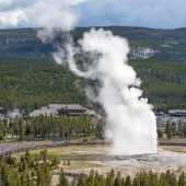 Eruzione dell'Old Faithful