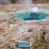 Spasmodic geyser - Upper Geyser Basin