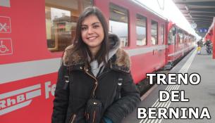 TRENO ROSSO DEL BERNINA-DA TIRANO A S MORITS