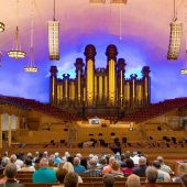 Tabernacle Auditorium di Temple Square - Salt Lake City