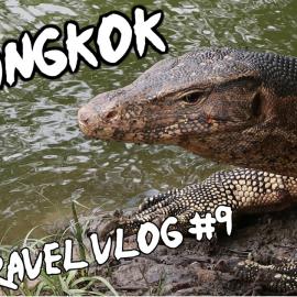 A caccia di varani al Lumpini Park - Bangkok Vacanza In Thailandia 2017 - Travel Vlog 9