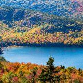 Acadia National Park - Vista da Cadillac Mountain 1