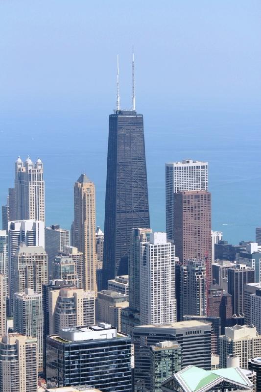 Chicago-di-giorno-dalle-Sears-