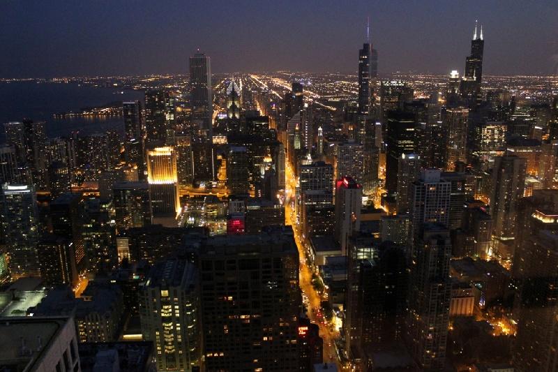 Chicago-di-notte-dal-John-Hanc