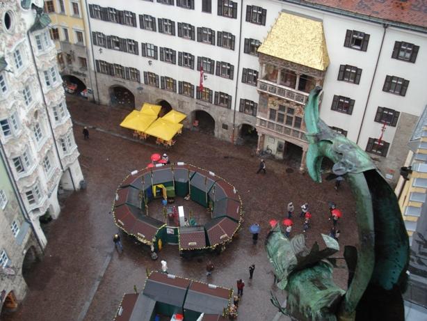 Innsbruck-dalla-torre-civica