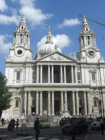St-Pauls-Cathedral---facciata