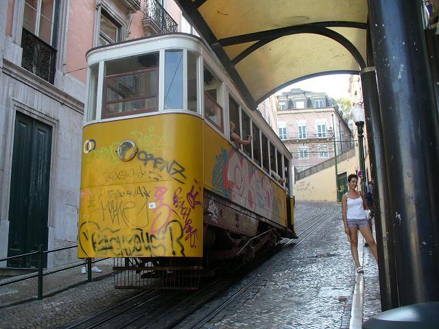 Lisbona---Elevador-de-Gloria
