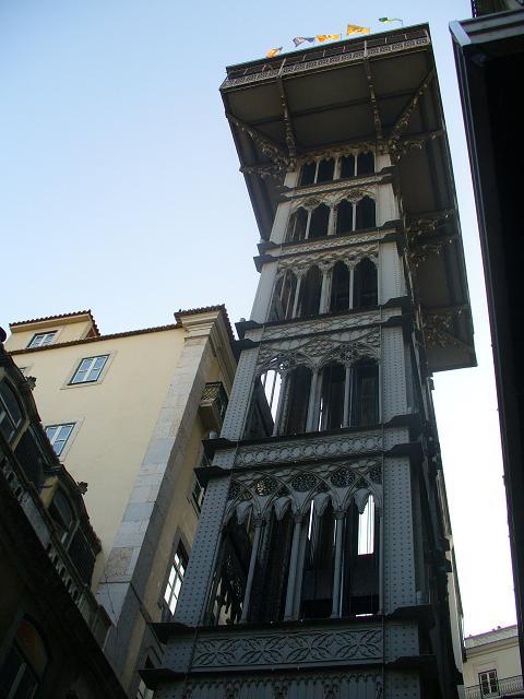 Lisbona---Elevador-de-santa-ju