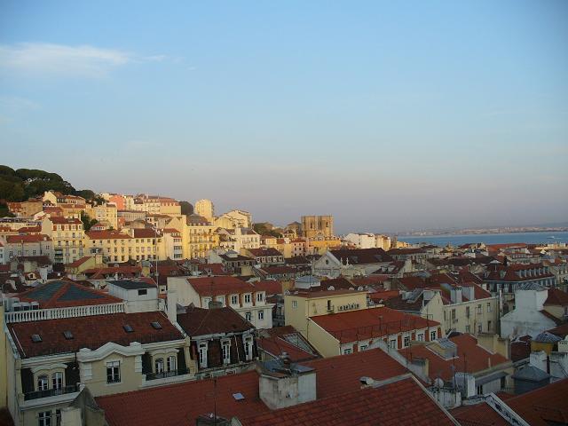 Lisbona---dallelevador
